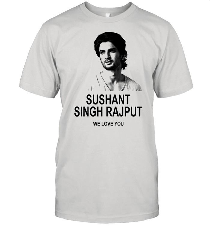 Sushant Singh Rajput We Love You shirt Classic Men's T-shirt