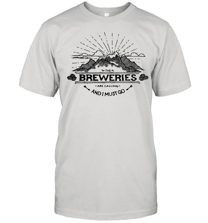 The Breweries Are Calling And I Must Go Craft Beer shirt Classic Men's T-shirt