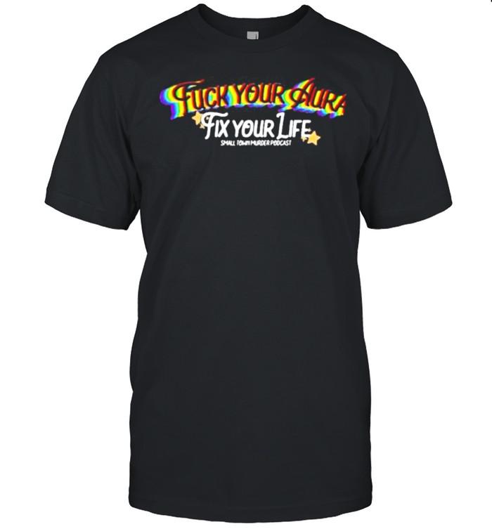 Crime in sports fuck your aura shirt Classic Men's T-shirt