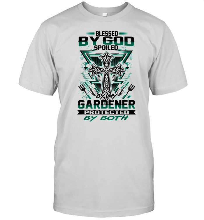 Gardening Blessed By Good Spoiled By Gardener shirt Classic Men's T-shirt