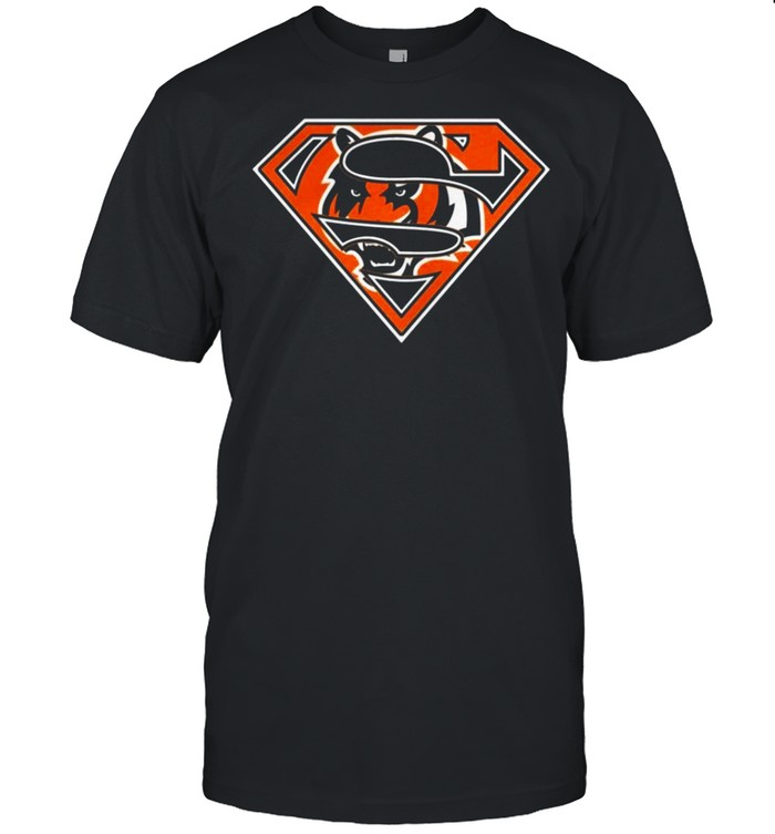 Cincinnati Bengals Raiders Superman 2021 shirt Classic Men's T-shirt