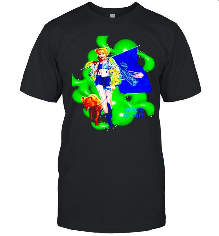 Harley Quinn Los Angeles Dodgers shirt Classic Men's T-shirt