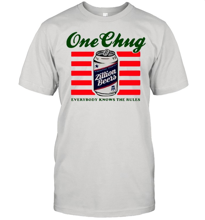 Beers One Chung Everybody Knows The Rules shirt Classic Men's T-shirt