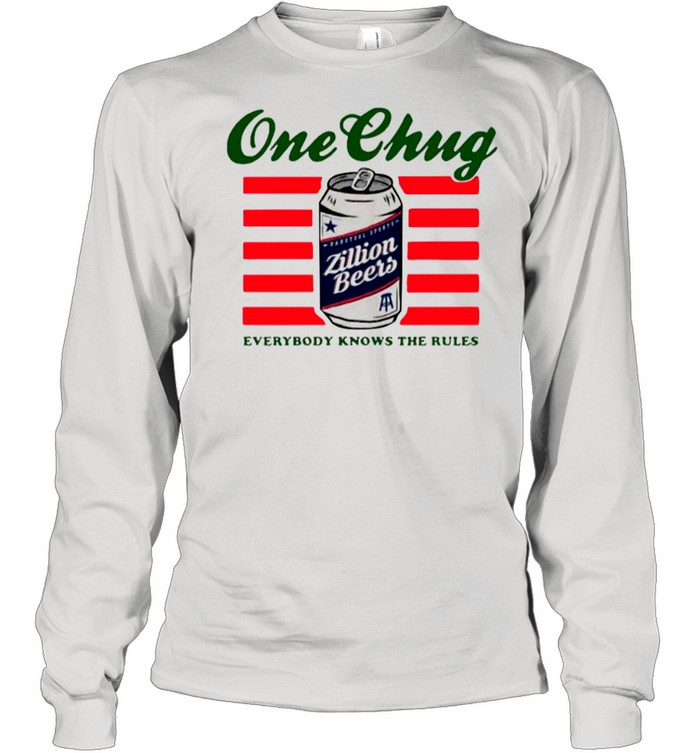 Beers One Chung Everybody Knows The Rules shirt Long Sleeved T-shirt