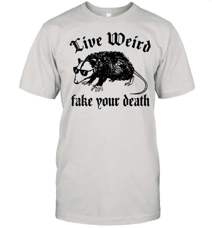 Opossum Live Weird Take Your Death shirt Classic Men's T-shirt