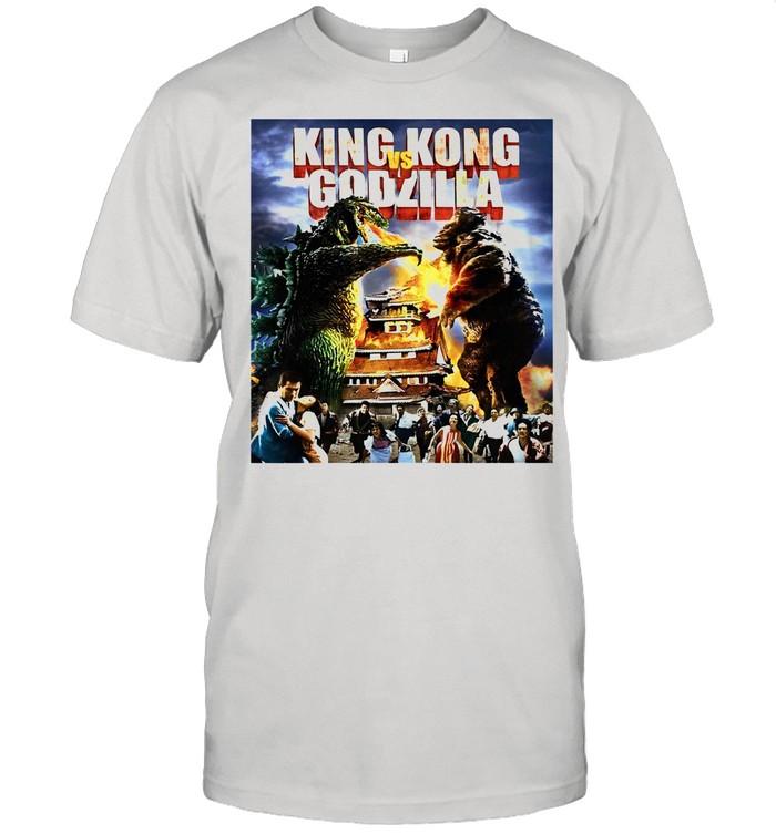 Kaiju Battle King And Kong Godzilla shirt Classic Men's T-shirt