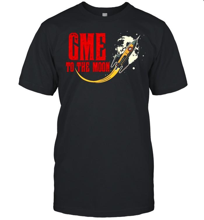 GME To The Moon 2021 shirt Classic Men's T-shirt