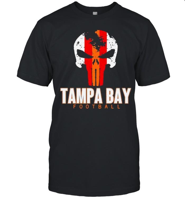 Skull Tampa Bay Hometown Football shirt Classic Men's T-shirt