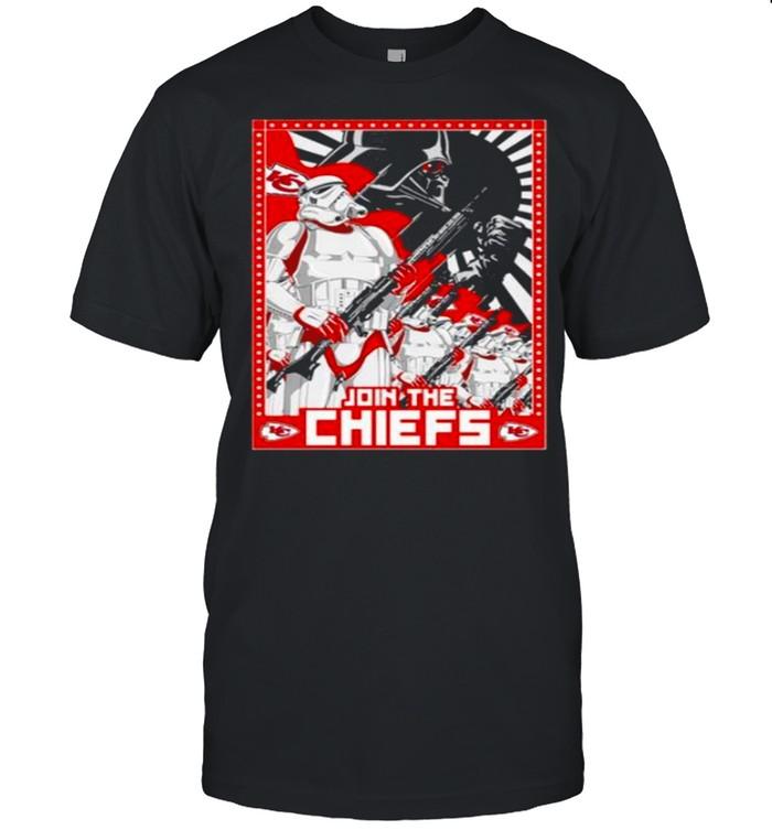 Star Wars Kansas City Chiefs Join the Chiefs shirt Classic Men's T-shirt