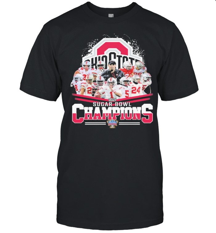 Ohio state buckeyes 2021 sugar bowl champions shirt Classic Men's T-shirt