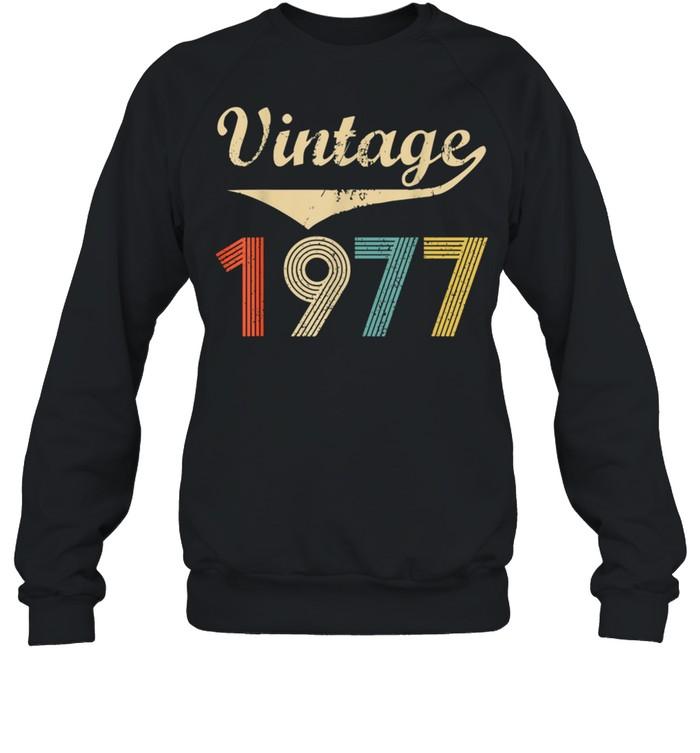 Vintage 1977 Distressed shirt Unisex Sweatshirt