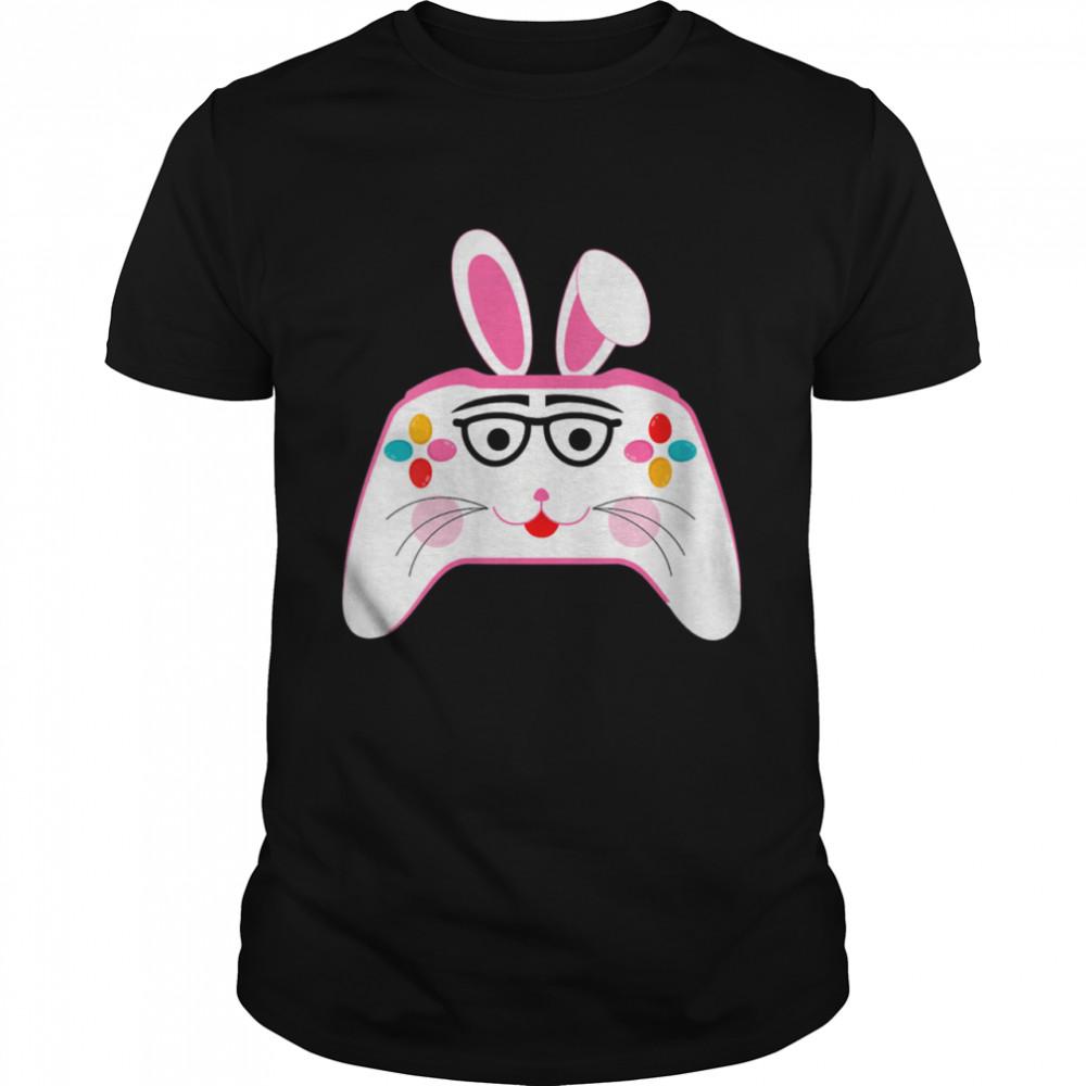Gamer Easter Bunny Gamer Controller Gamer Easter Day Eggs shirt Classic Men's T-shirt