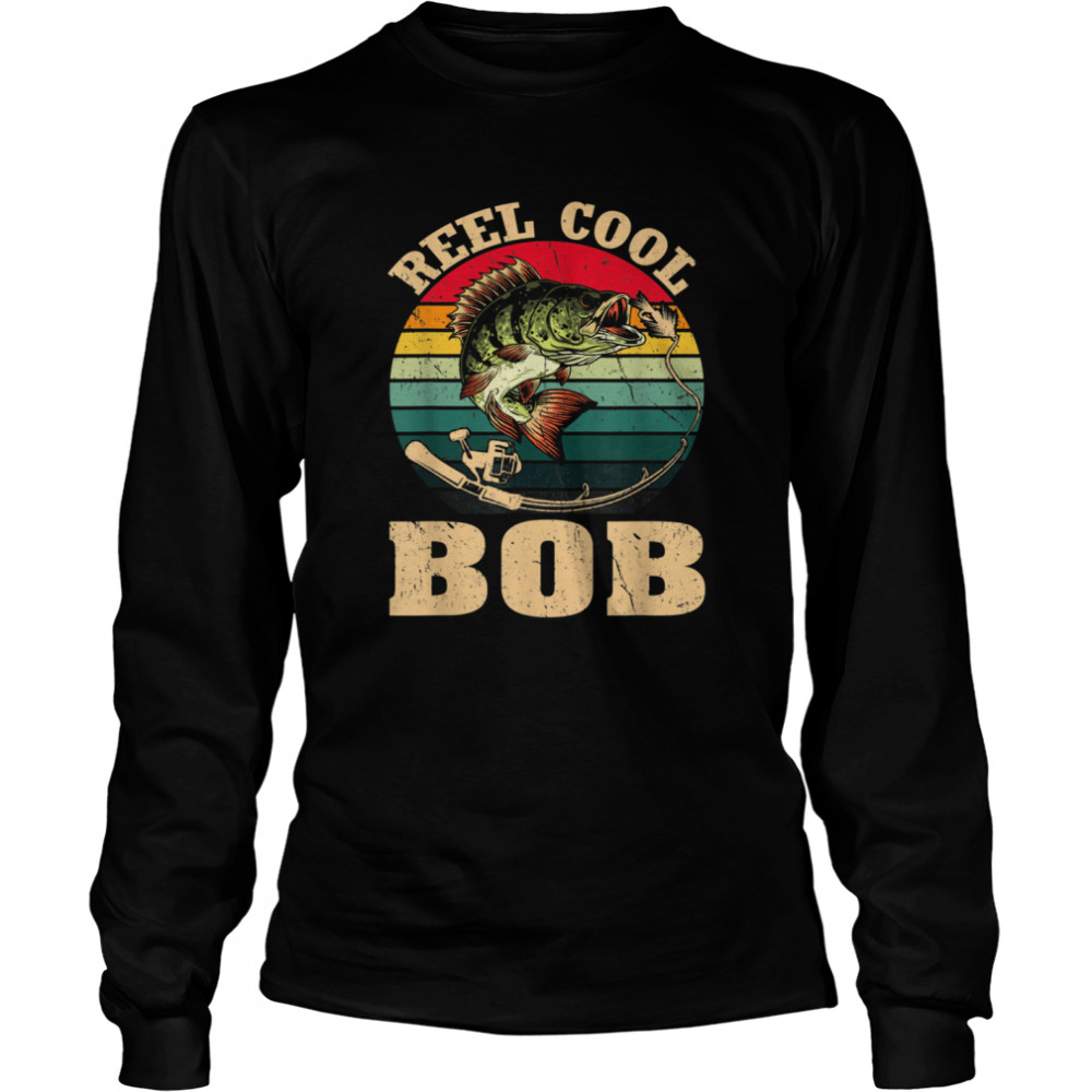 vintage reed cool bob fishing fathers day shirt long sleeved t shirt