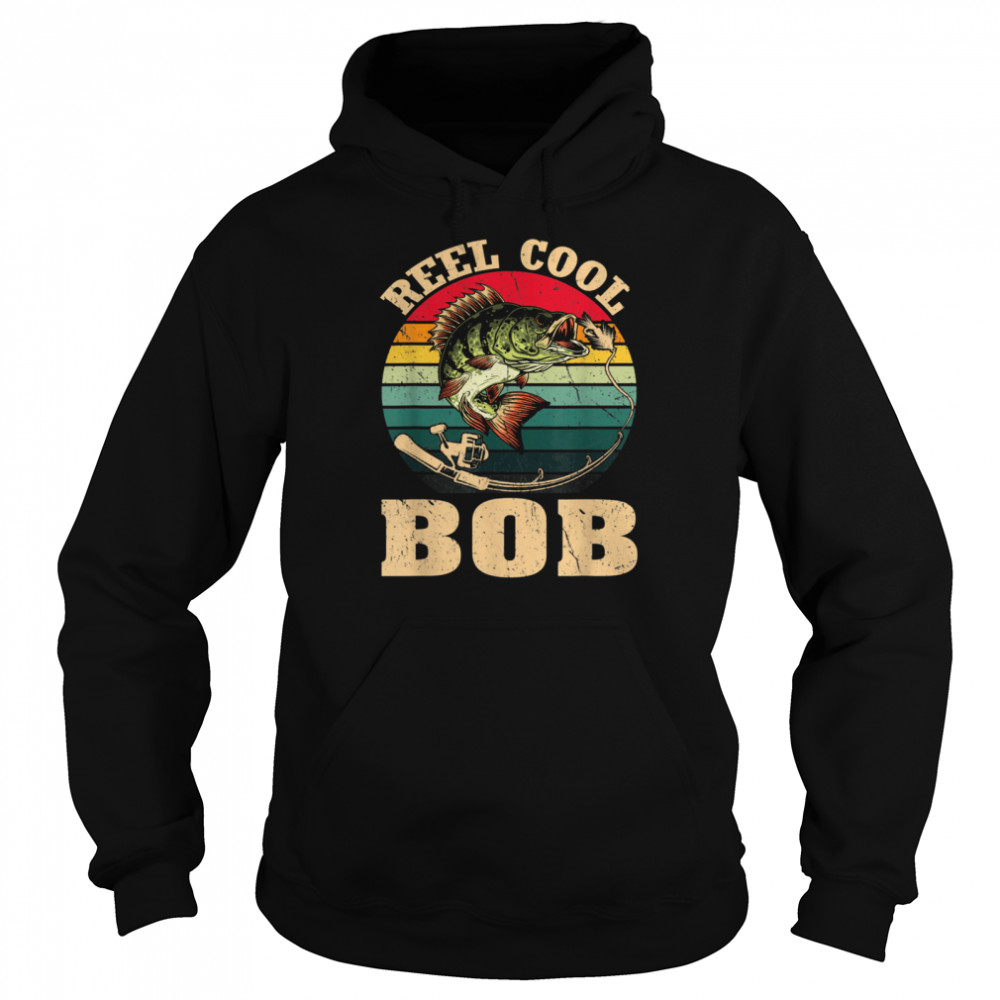 vintage reed cool bob fishing fathers day shirt unisex hoodie