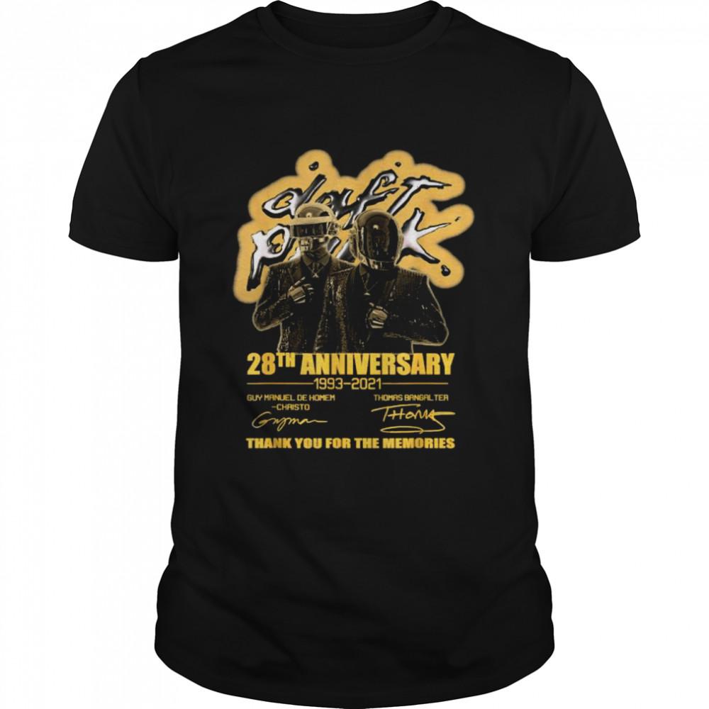 28th Anniversary Daft Pulp Punk Signature  Classic Men's T-shirt