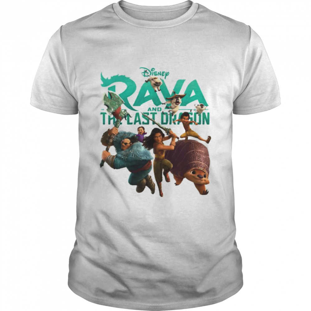 Disney Raya And The Last Dragon Characters  Classic Men's T-shirt