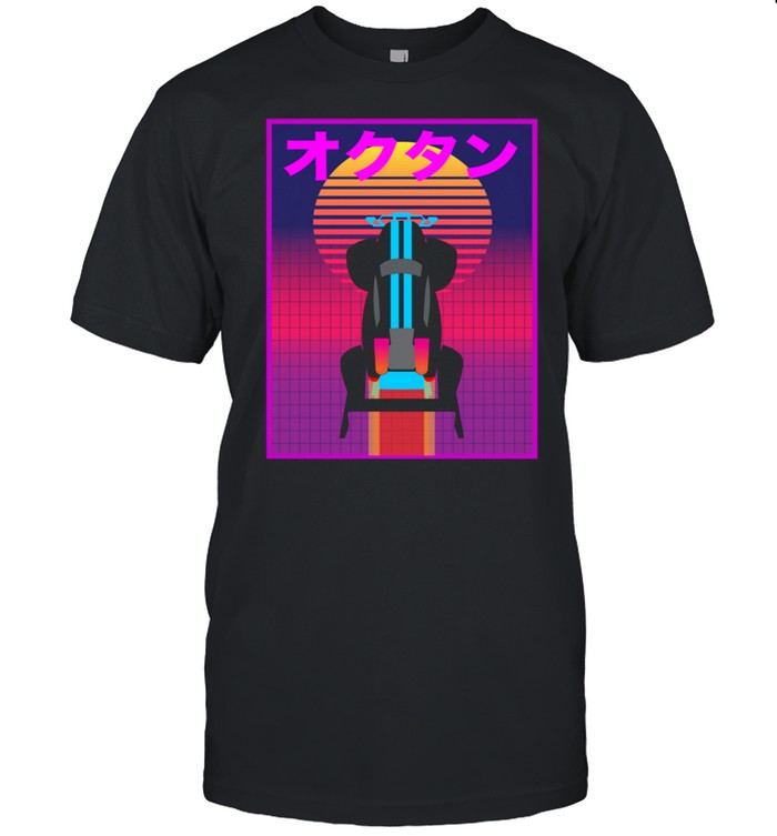 Retro 80s and 90s Rocket Car Soccer Gamer Vaporwave shirt Classic Men's T-shirt