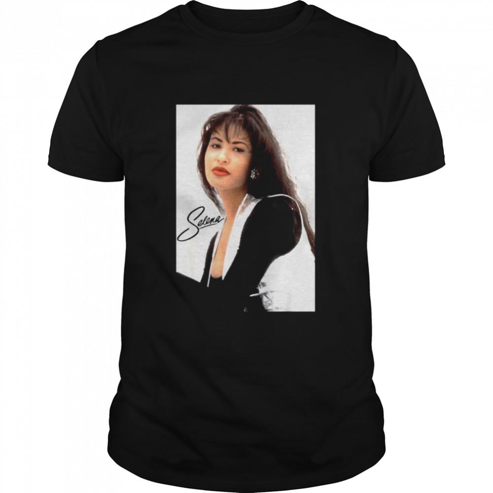 Selenas Quintanilla Lover vs Signature  Classic Men's T-shirt