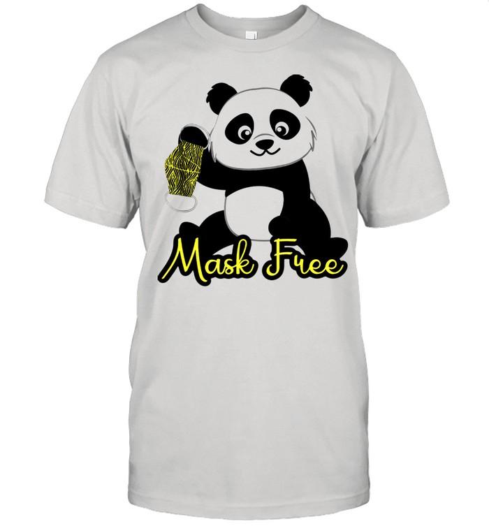 Mask Free Panda Bears shirt Classic Men's T-shirt