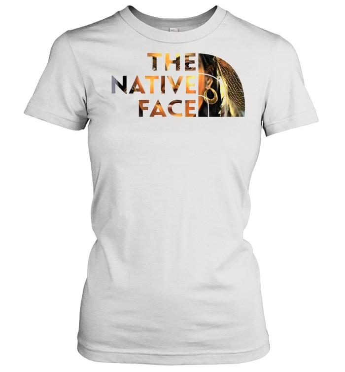 the native face shirt classic womens t shirt