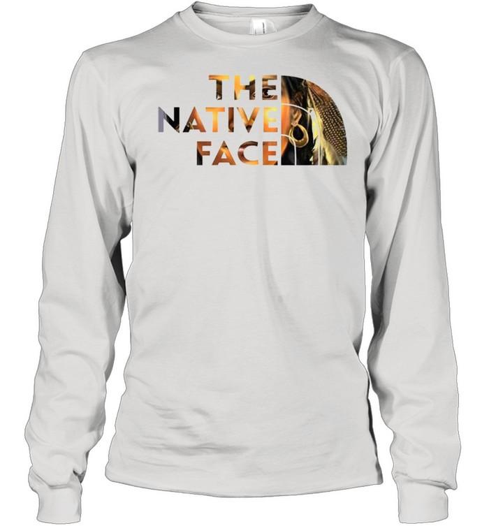 the native face shirt long sleeved t shirt