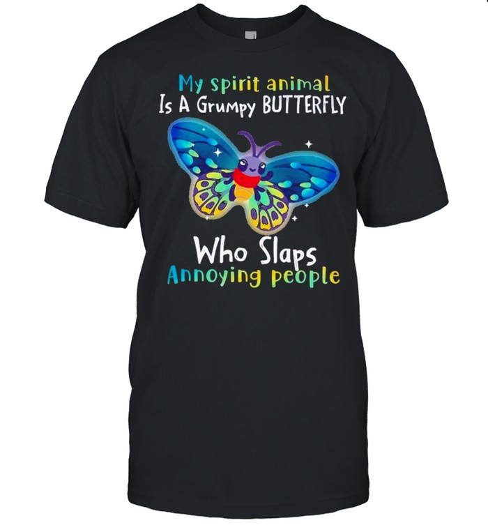 Butterfly Annoying People Insects Bugs Lovers  Classic Men's T-shirt