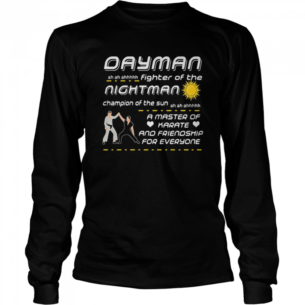 Dayman Iasip Fighter Of The Nightman  Long Sleeved T-shirt