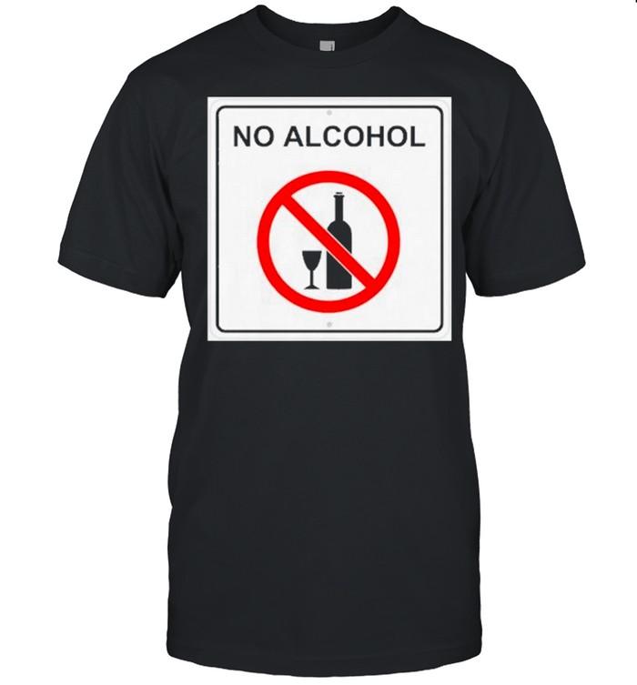 No Alcohol shirt Classic Men's T-shirt
