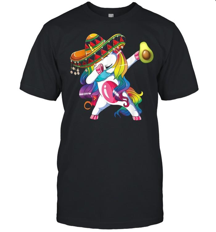 Cinco De Mayo 2021 Dabbing Unicorn Mexican shirt Classic Men's T-shirt
