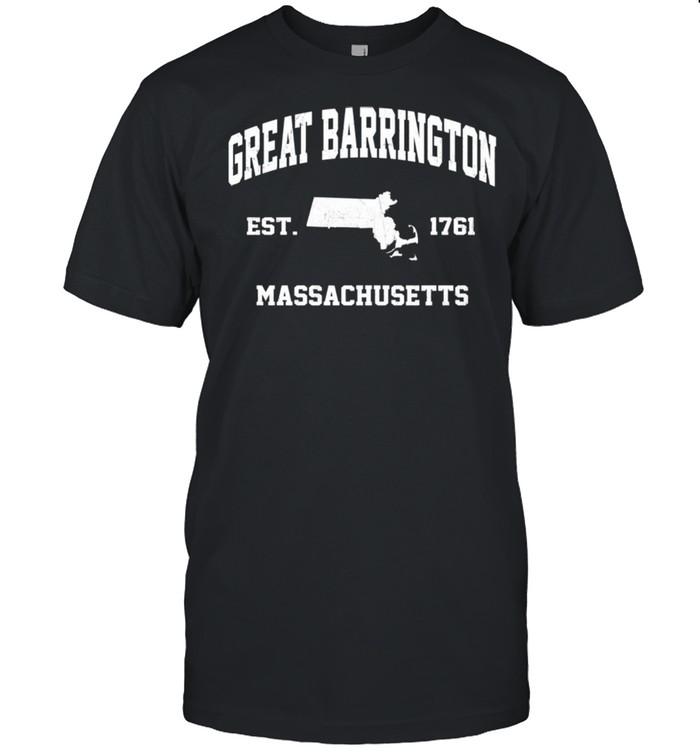 Great Barrington Massachusetts MA vintage state Athletic shirt Classic Men's T-shirt