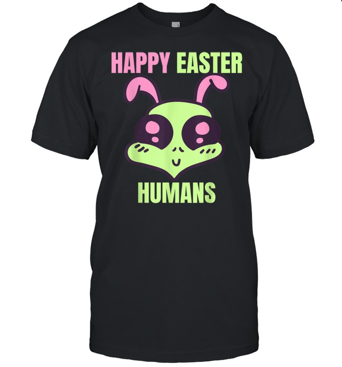 Happy Easter Human Alien shirt Classic Men's T-shirt