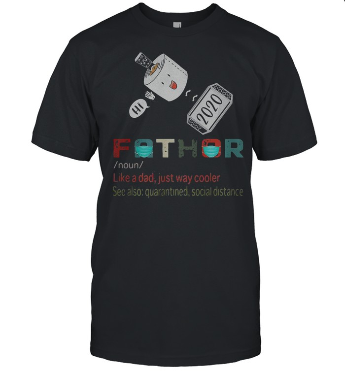 Hi thor fathor father day shirt Classic Men's T-shirt