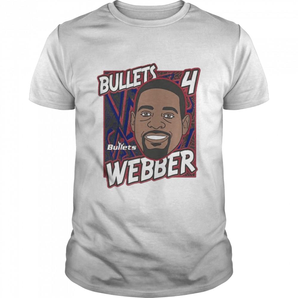 Washington Bullets Chris Webber King of the Court player shirt Classic Men's T-shirt