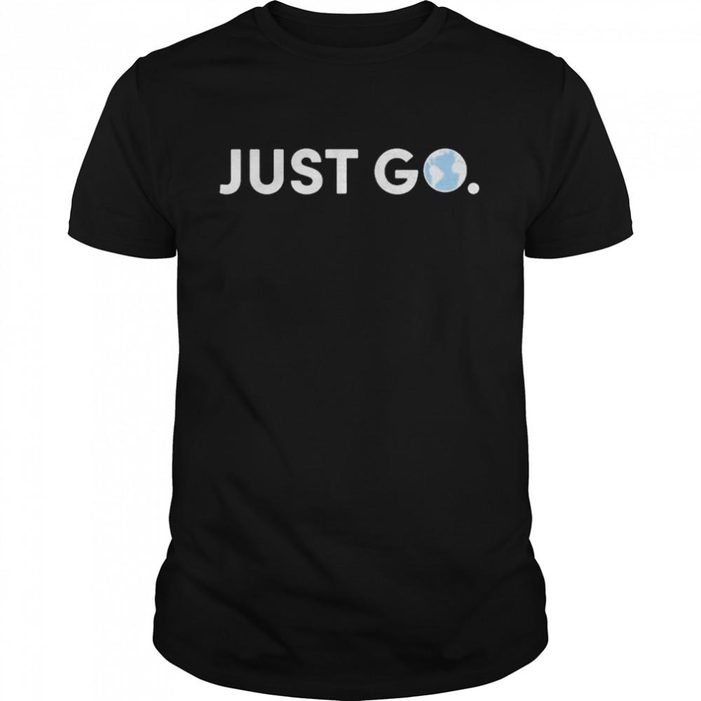 Drew Binsky Just Go shirt Classic Men's T-shirt