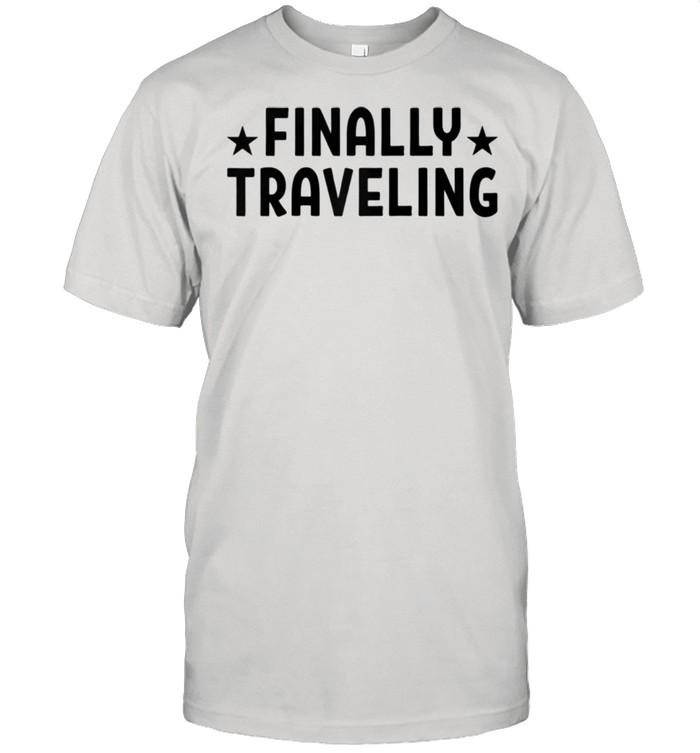 Finally Traveling Travel Gear  Classic Men's T-shirt