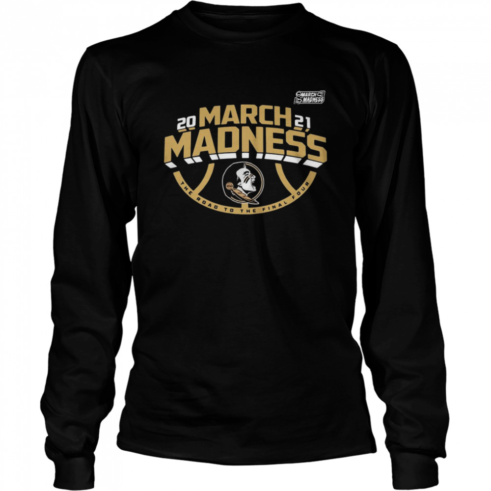 florida state 2021 ncaa march madness shirt long sleeved t shirt