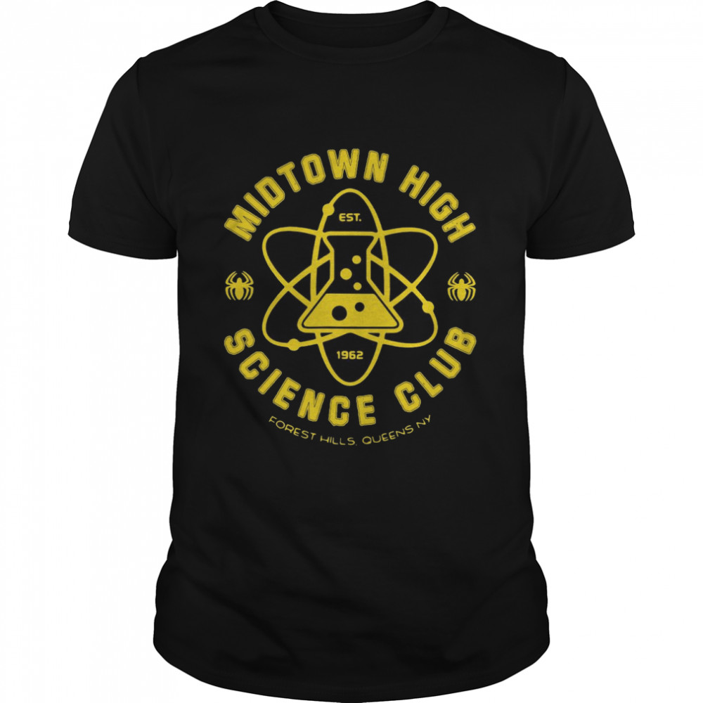 Midtown High Science Club Est 1962 Forest Hills Queens Ny T-shirt Classic Men's T-shirt