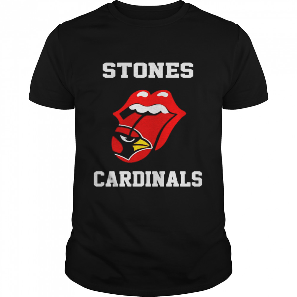 The Rolling Stones St. Louis Cardinals lips shirt Classic Men's T-shirt