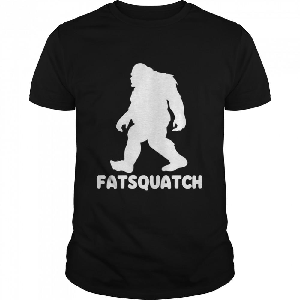 Bigfoot fatsquatch shirt Classic Men's T-shirt