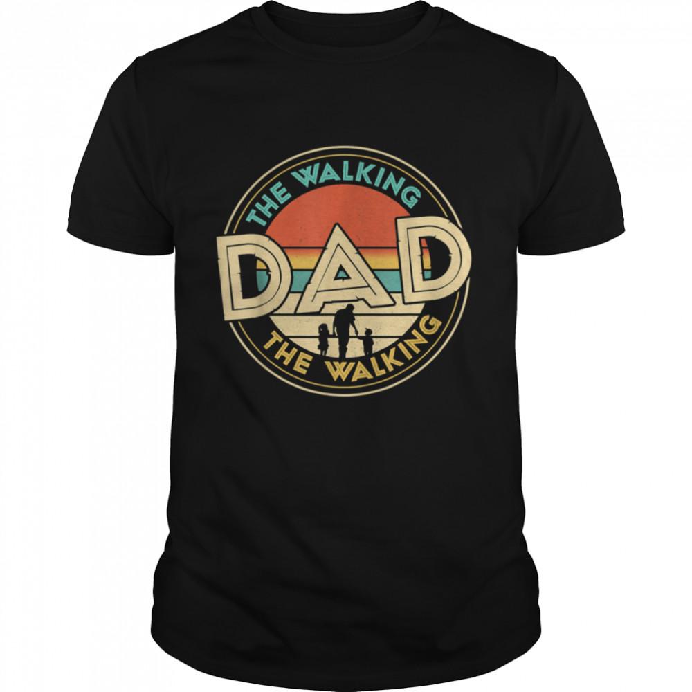 Mens The Walking Dad Fathers Day shirt Classic Men's T-shirt