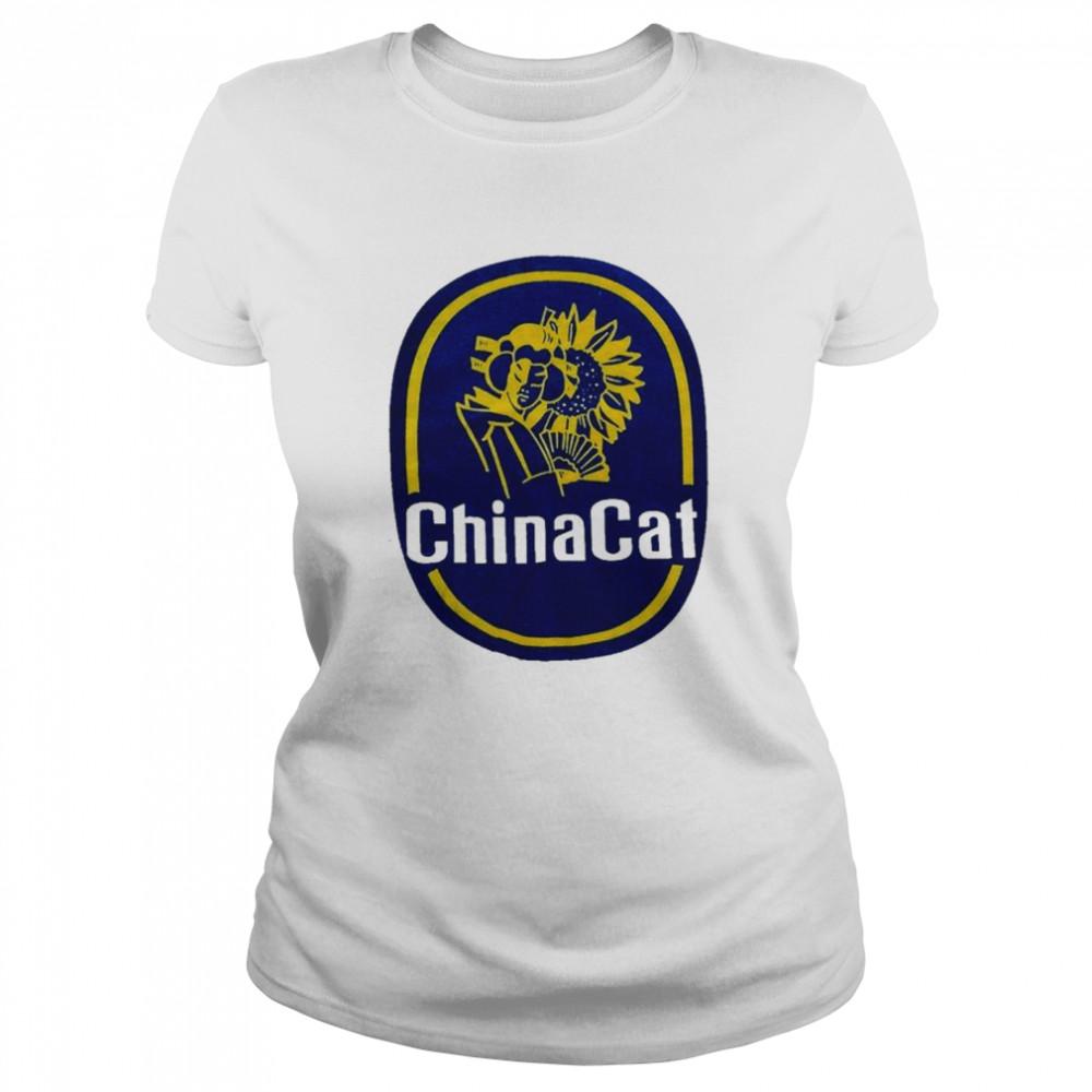 china cat sunflower  grateful dead inspired shirt classic womens t shirt