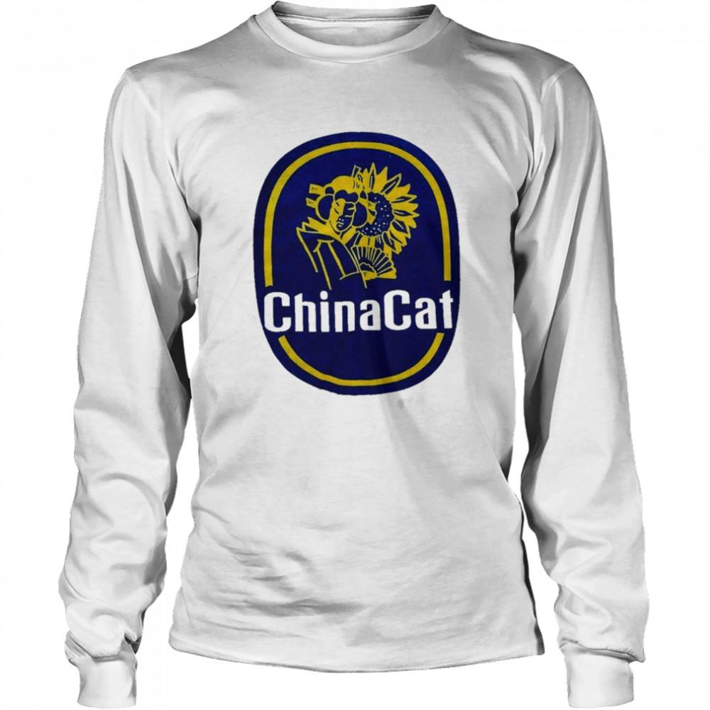 china cat sunflower  grateful dead inspired shirt long sleeved t shirt