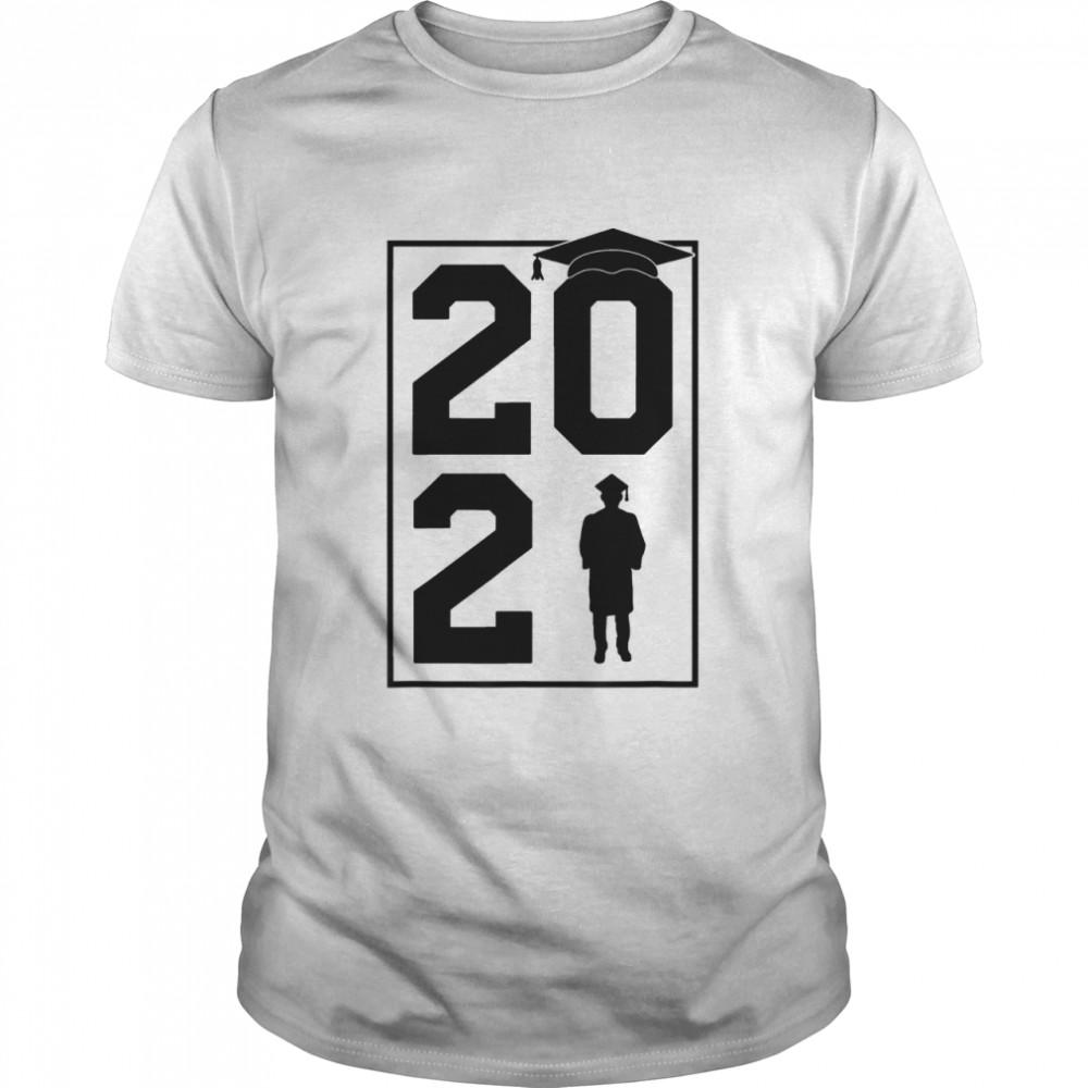 Class of 2021 Student Graduate Cap Family Senior Graduation shirt Classic Men's T-shirt