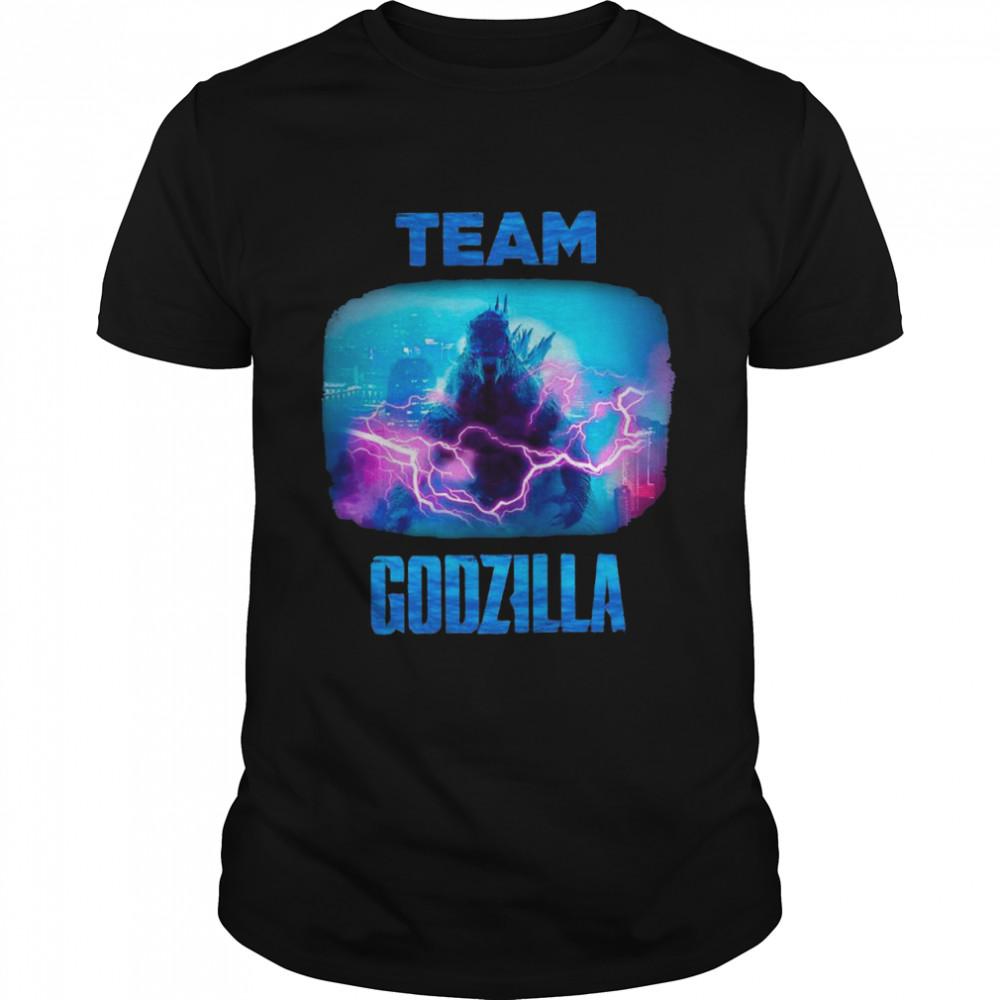Kong Vs Godzilla Team Godzilla Win tshirt Classic Men's T-shirt