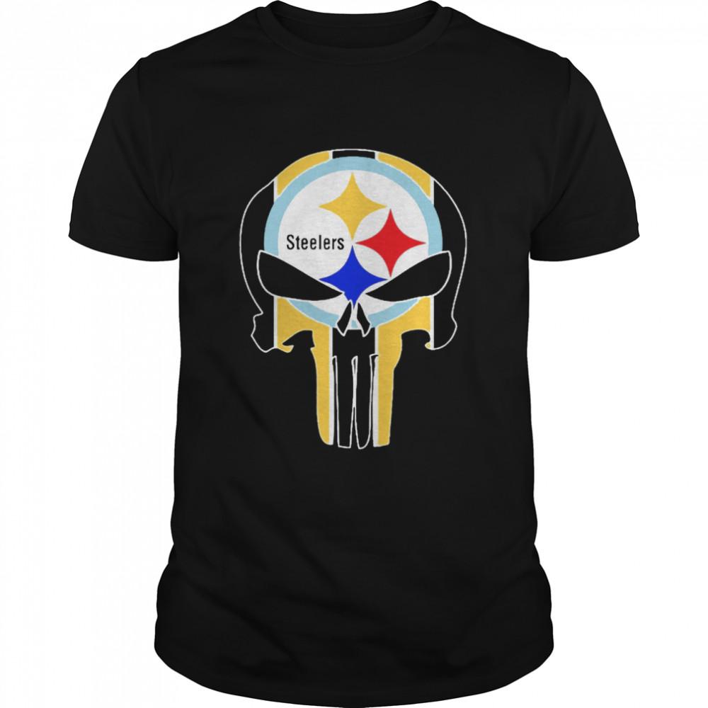 Skull Pittsburgh Steelers shirt Classic Men's T-shirt