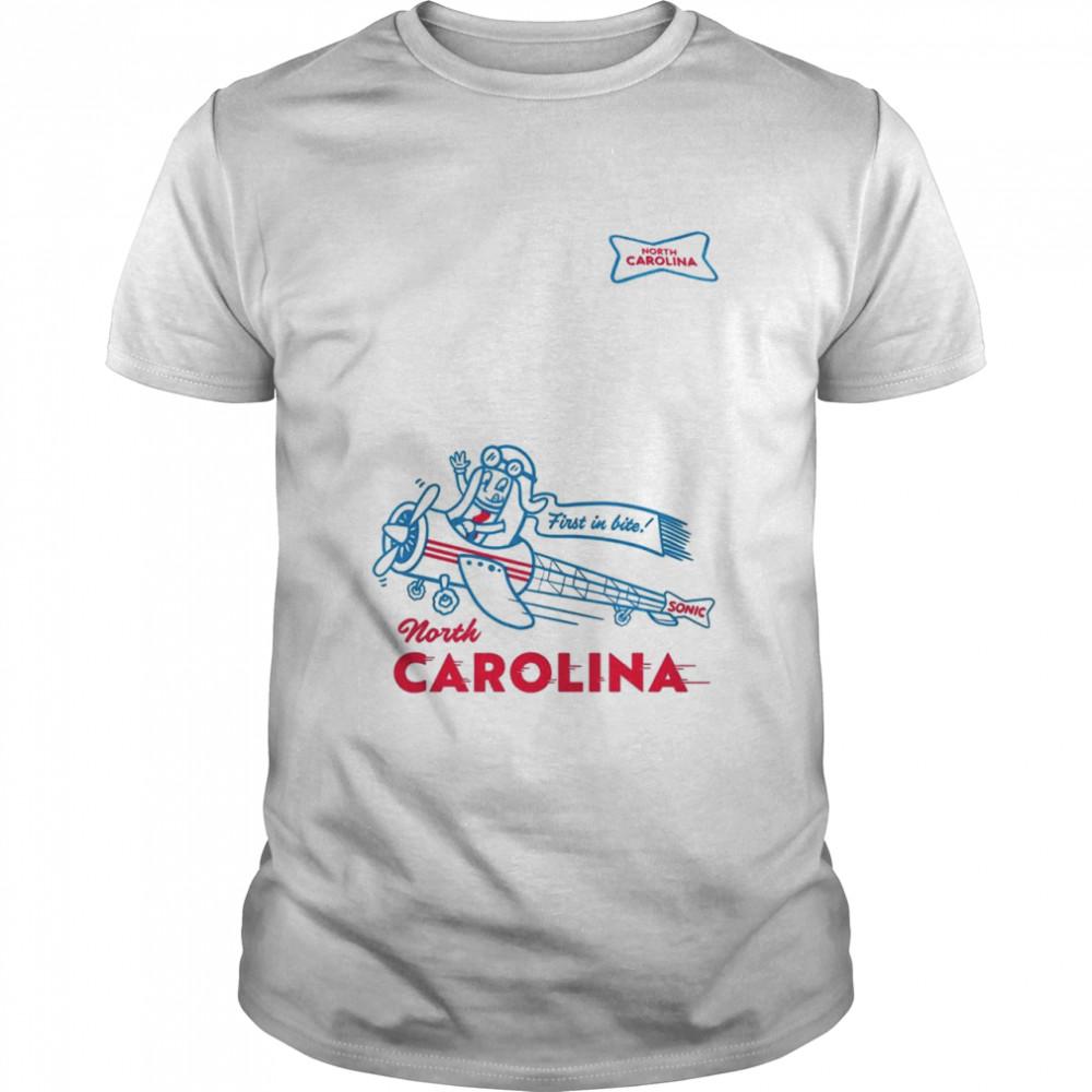 Sonic first in bite North Carolina shirt Classic Men's T-shirt