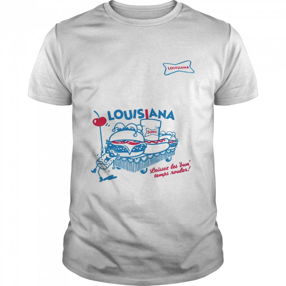 Sonic laisser les bun temps rouler Louisiana shirt Classic Men's T-shirt