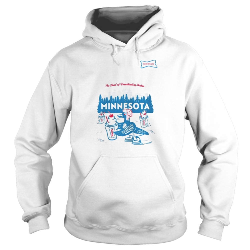 sonic the land of breathtaking shakes minnesota shirt unisex hoodie