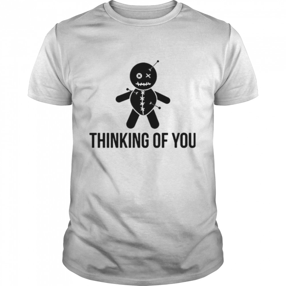 Thinking of you Voodoo Doll shirt Classic Men's T-shirt