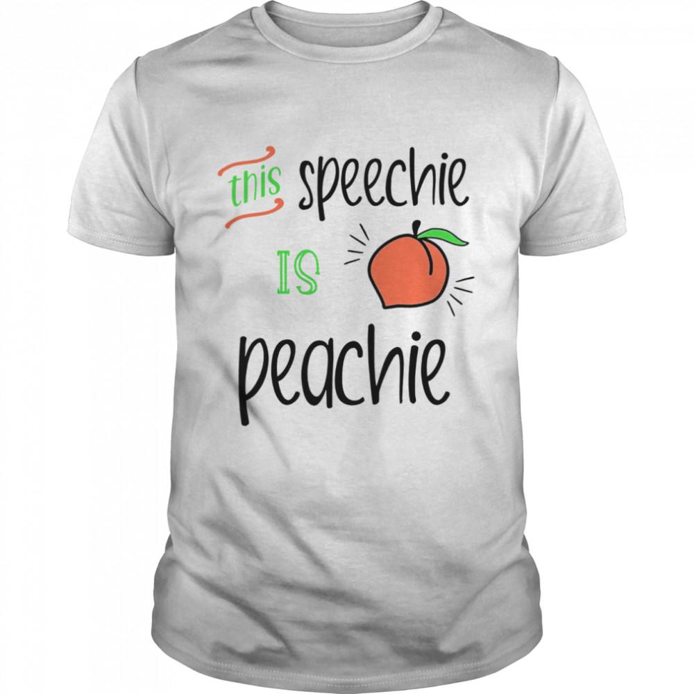 This Speechie Is Peachie  Classic Men's T-shirt